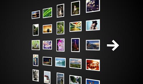 图片3D立体浏览flash+xml+js代码