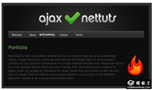 基于jquery的强大ajax选项卡特效插件