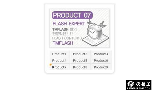 9屏flash+xml自动切换焦点图幻灯片代码