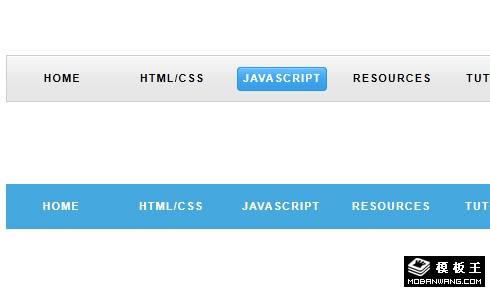 jQuery动态下滑菜单js特效