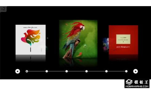 创意中国网站flash+xml焦点图